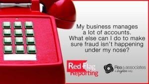 Red Flag Reporting - Rea & Associates - Ohio CPA Firm