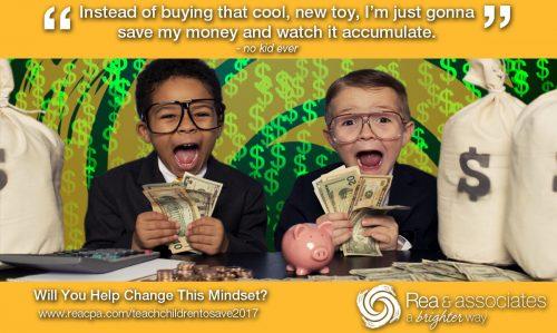 Teach Children To Save | Savings Tips | Ohio CPA Firm