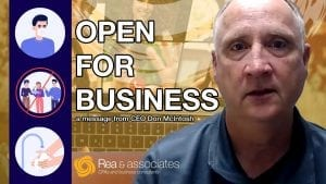 Open For Business | Rea & Associates | Ohio CPA Firm