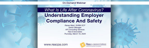 Employer Compliance & Safety | On Demand Webinar | Ohio CPA Firm