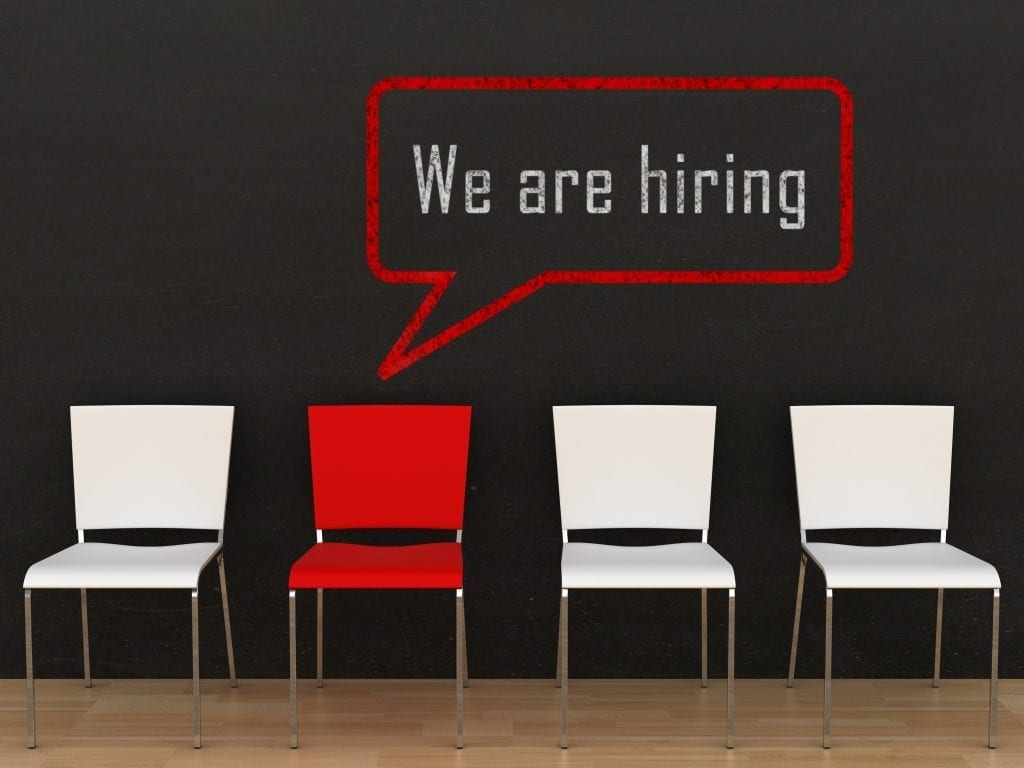 We Are Hiring Image | Chairs | Save Money With Tax Credits