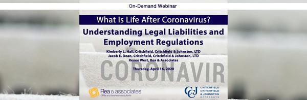 Legal Liabilities & Employment Regulations | On-Demand Webinar Series | Ohio CPA Firm
