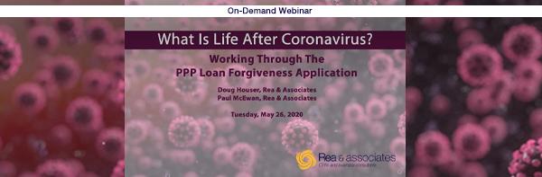 PPP Loan Forgiveness Application | Webinar | Ohio CPA Firm
