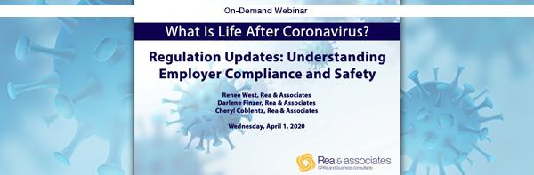 HR Regulation Updates | COVID-19 Webinar | Ohio CPA Firm
