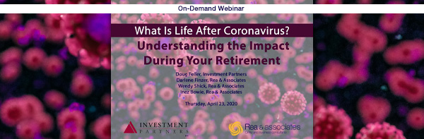 What Is Life After Coronavirus | Retirement Planning Webinar | Ohio CPA Firm