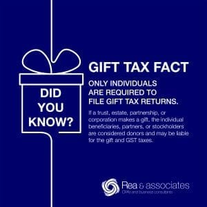 Gift Tax Facts | Ohio CPA Firm