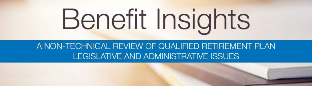 Benefit Insights | Winter 2019 | Ohio CPA Firm